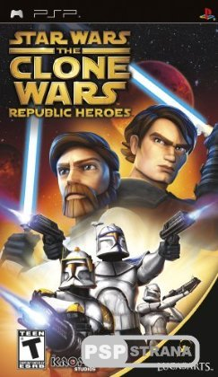 Star Wars: The Clone Wars Republic Heroes [ENG] [Игры для PSP]
