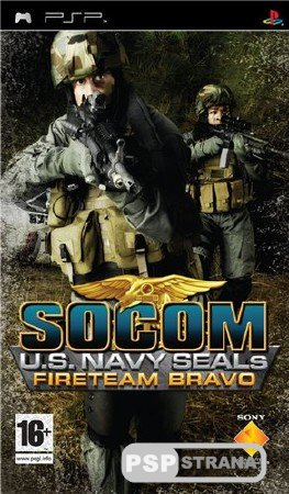 SOCOM: Navy SEALs Fire Team Bravo 3 [RUS] [FULL] [PSP ISO Игры]
