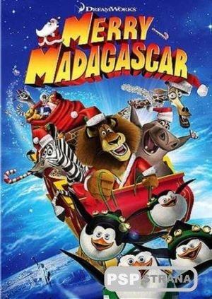 Рождественский Мадагаскар (DVDRip) [Мультфильмы для PSP]