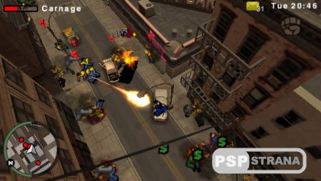 Grand Theft Auto : Chinatown Wars [Игры для PSP]