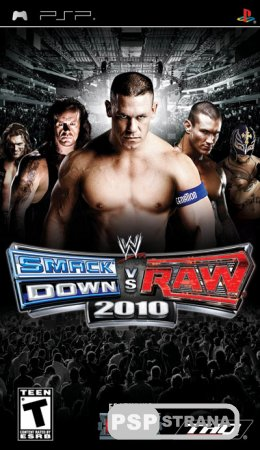 WWE Smackdown Vs Raw 2010 [ENG] [FULL] [Игры для PSP]