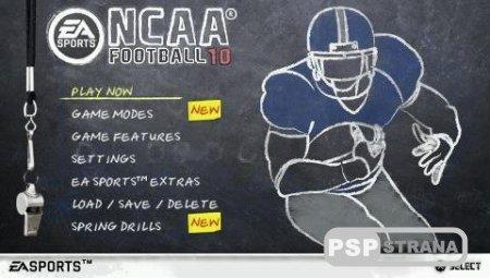 NCAA Football 10 [ENG] [Игры для PSP]