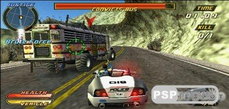 Pursuit Force: Extreme Justice [RUS] [Игры для PSP]