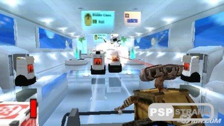WALL-E [RUS] [Игры для PSP]