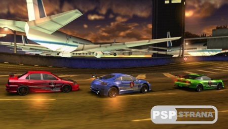 Need for Speed Carbon: Own the City [RUS] [Игры для PSP]