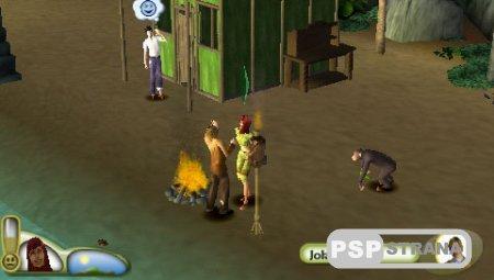 The Sims 2: Castaway [ENG] [Игры для PSP]