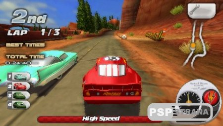 Cars Race o Rama [USA] [FULL] [Игры для PSP]