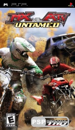MX vs ATV Untamed [ENG] [Игры для PSP]