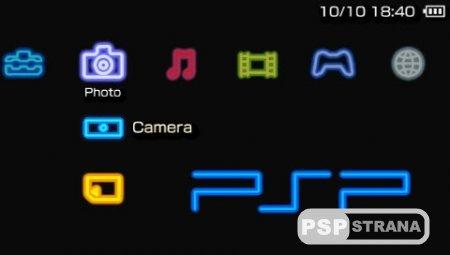 Neon [Тема для PSP]