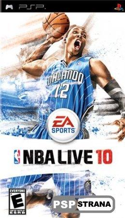 NBA Live 10 [ENG] [Игры для PSP]