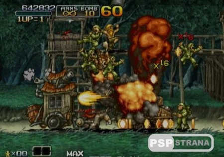 Metal Slug Anthology [Игры для PSP]