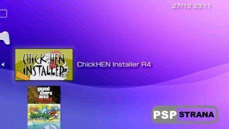 ChickHEN Installer V4 [Программы для PSP]