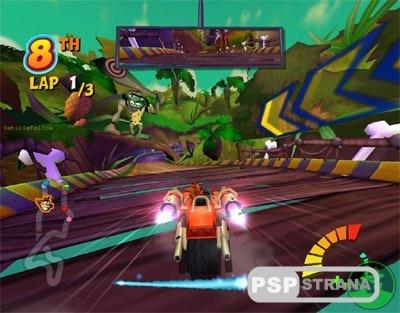 Crash Tag Team Racing [ENG] [RIP] [Игры для PSP]