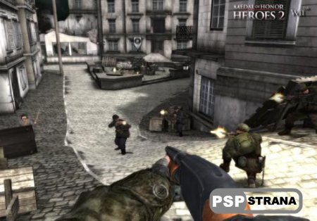 Medal of Honor Heroes 2 [RUS] [Игры для PSP]