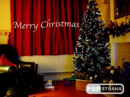 Merry Christmas дорогие пользователи сайта PSPstrana!