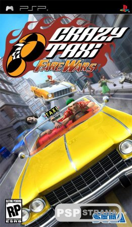Crazy Taxi: Fare Wars [ISO] [Игры для PSP]