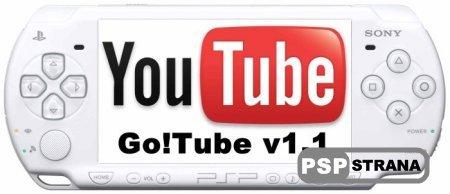 Go!Tube v1.1 [Программы для PSP]