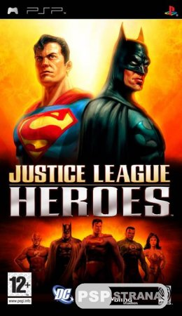 Justice League Heroes [FULL]  [PSP Игры]