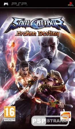 SoulCalibur: Broken Destiny [RUS] [FULL] [Игры на PSP]