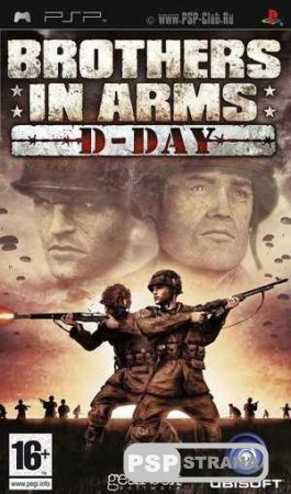 Brothers In Arms D-Day [Игры для PSP]