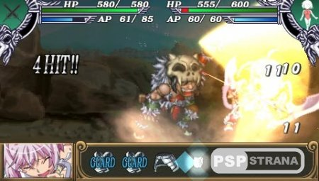 Queen's Blade: Spiral Chaos (2009/PSP/ENG)