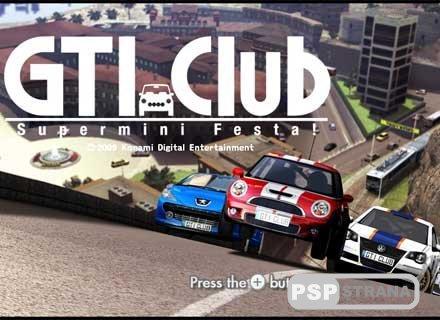 Хит для PSP: GTI Club Supermini Festa! [ENG] [Игры для PSP]