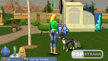 The Sims 2: Pets [RUS] [Игры для PSP]