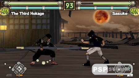 Naruto: Ultimate Ninja Heroes 2: The Phantom Fortress [FULL] [ENG] [Игры для PSP]