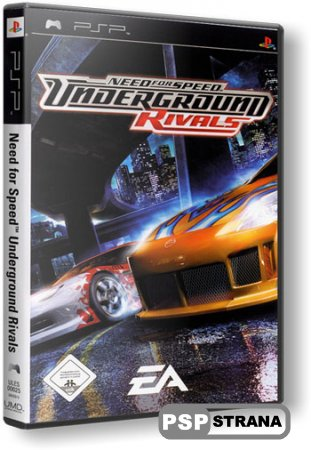 Need For Speed: Underground Rivals [RUS] [Игры для PSP]