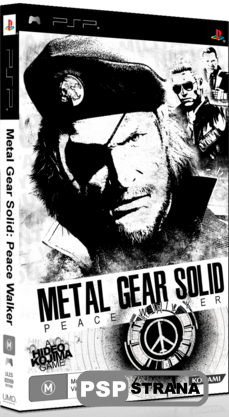 Metal Gear Solid Peace Walker [EU][FULL+DLC]