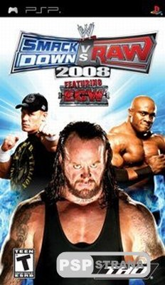 WWE SmackDown! vs. RAW 2008 [ENG][Full]