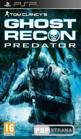 Tom Clancy's Ghost Recon Predator [Игра для PSP] [2010] [Patched]