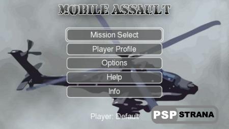 Mobile Assault v1.6 [Homebrew для PSP]