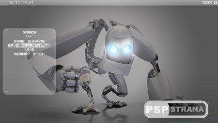 Тема Sidepixel [CTF] (5.00/5.03) для PSP