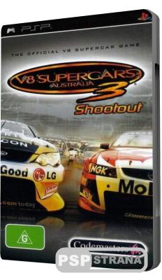 V8 Supercars 3 Shootout (PSP/ENG)