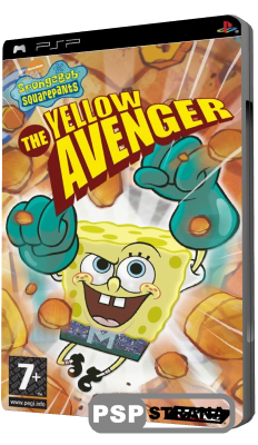 SpongeBob Squarepants: The Yellow Avenger (PSP/ENG)