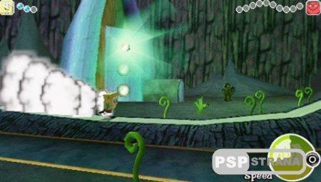 SpongeBob Squarepants: The Yellow Avenger (PSP/ENG)