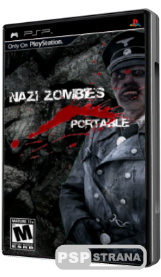 Nazi Zombies Portable [PSP/Eng/Homebrew]