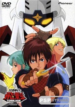 Ninja Senshi Tobikage / Ninja Warrior Tobikage / Ниндзя-воин Тобикаге (1985) (43 серии из 43) TVRip