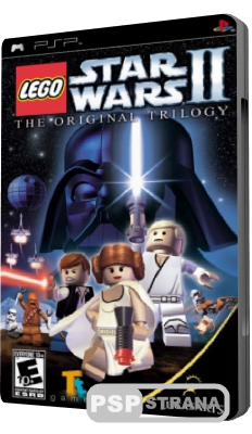 LEGO Star Wars II: The Original Trilogy (PSP/RUS)