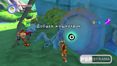 Crash Bandicoot: Mind Over Mutant (PSP/RUS) » Игры для PSP