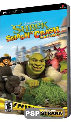 Shrek Smash N Crash Racing (PSP/RUS)