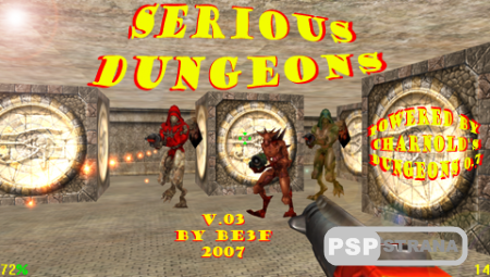 Serious Dungeons (PSP/Eng/Homebrew)