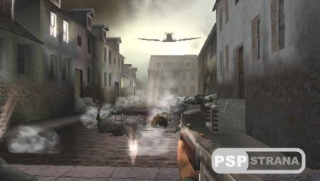 Call of Duty: Roads to Victory (PSP/RUS)
