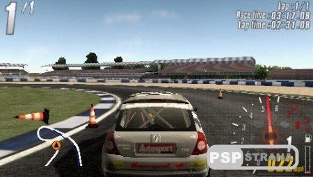TOCA Race Driver 3: Challenge (PSP/RUS)