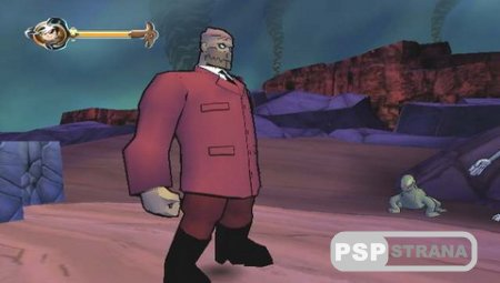The Secret Saturdays Beasts of the 5th Sun (PSP/ENG)