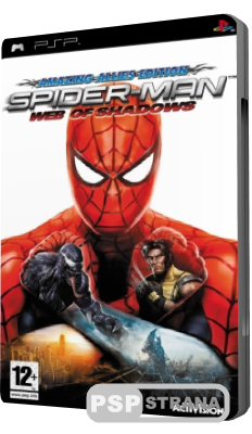 Spider-Man: Web of Shadows (PSP/RUS)