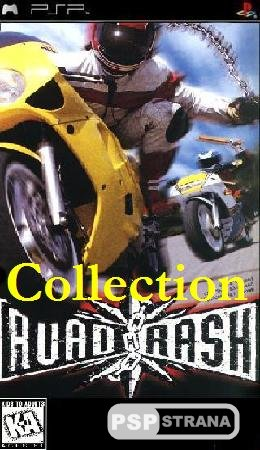 Road Rash Collection [PSX-PSP/RUS]