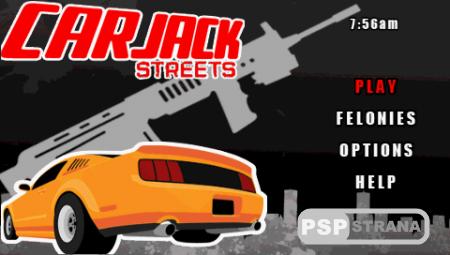 Car Jack Streets (PSP/ENG)