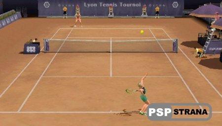 Smash Court Tennis 3 (PSP/ENG)